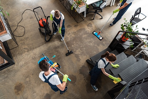 Réaliser un nettoyage de fin de chantier à Paris